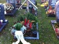 Das Grab von Wolfgang Braun